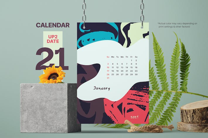 Thumbnail for Impulsive Days - Calendar 2021