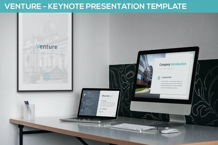 Thumbnail for Venture - Keynote Presentation Template
