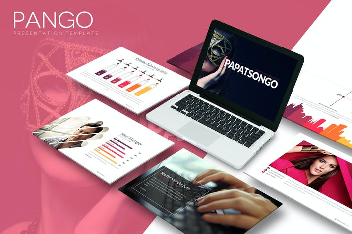 Thumbnail for Pango - Powerpoint Template