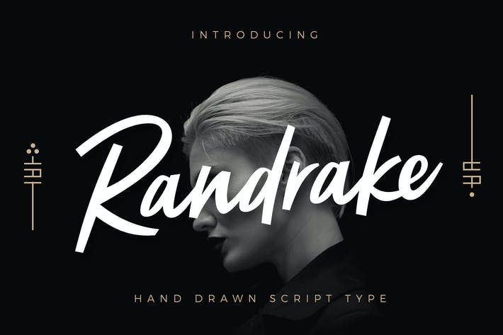 Thumbnail for Randrake - Font Script