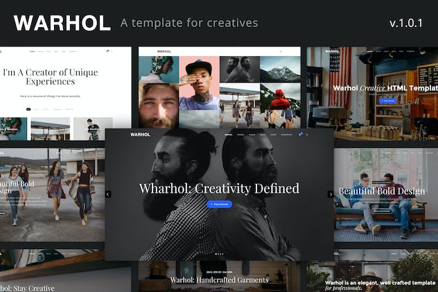 Warhol - Creative Multipurpose HTML Template - product preview 3