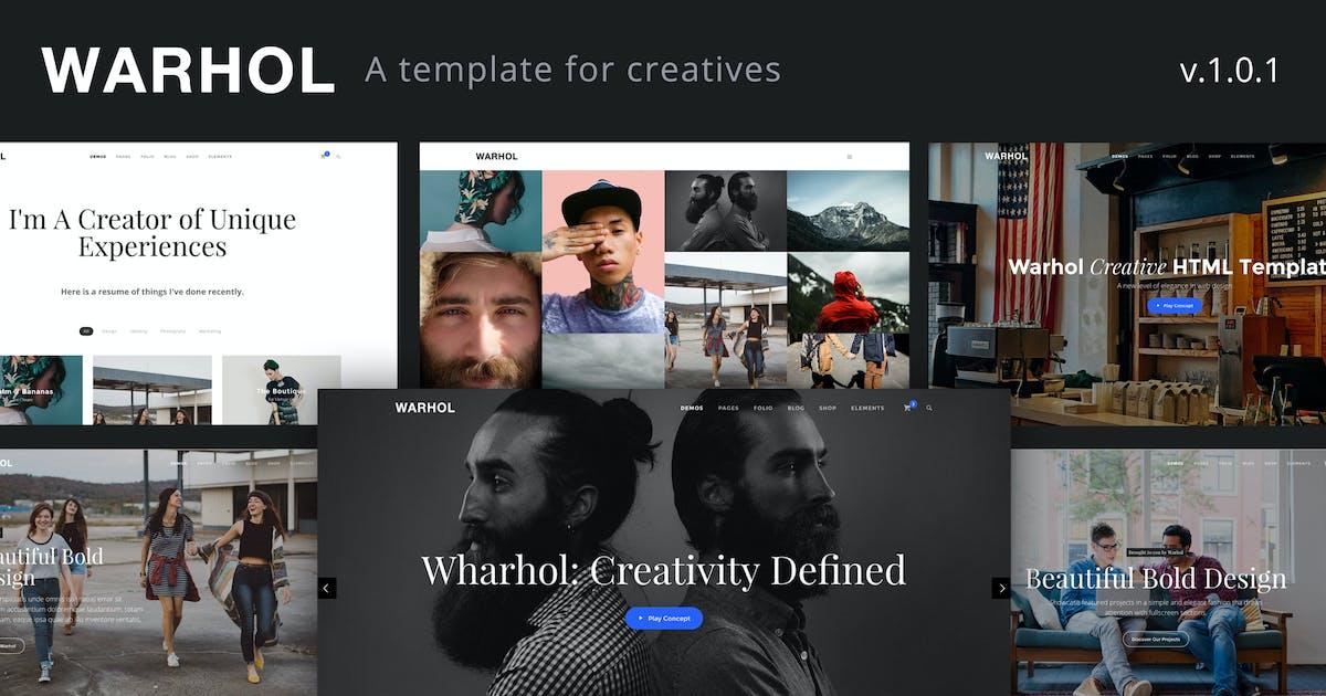 Download Warhol - Creative Multipurpose HTML Template by ThemeMountain