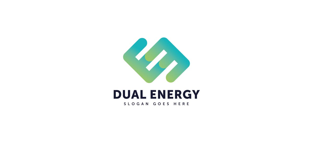 Download Dual Energy E letter Logo Vector Template by Pixasquare