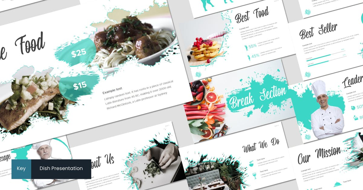Download Dish - Keynote Template by inspirasign