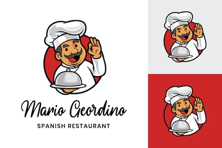 Thumbnail for Chef Logo - Mascot