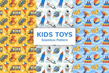 Kids Toys Seamless Pattern