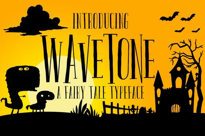 Thumbnail for Wavetone Typeface