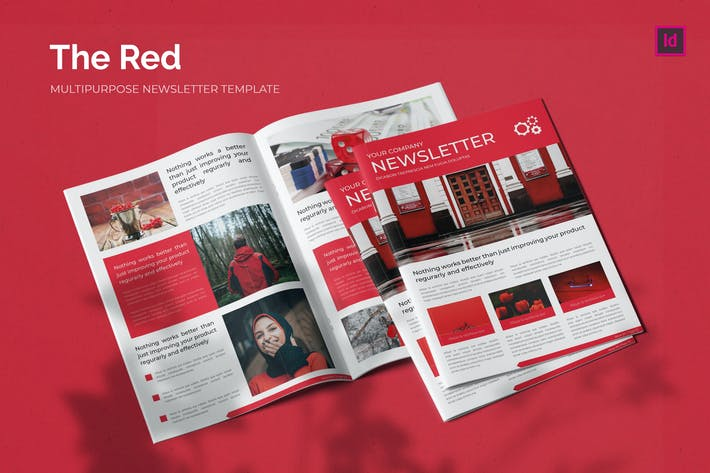 The Red - Newsletter Template