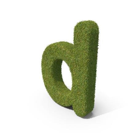 Grass Kleinbuchstabe D
