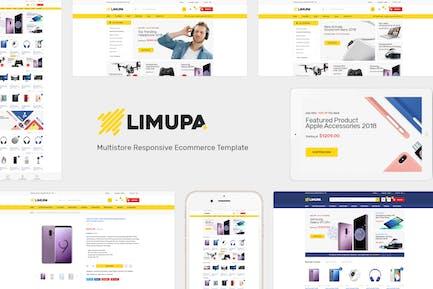 Limupa - Responsive Prestashop Theme