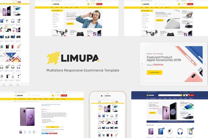 Thumbnail for Limupa - Responsive Prestashop Theme