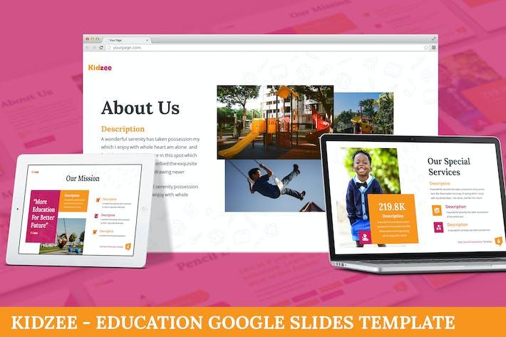 Thumbnail for Kidzee - Образование Google Слайды Шаблон