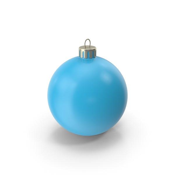 Рождественский орнамент голубой