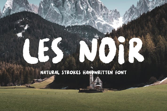 Thumbnail for LES NOIR - Handwritten Font