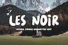 LES NOIR - Handwritten Font
