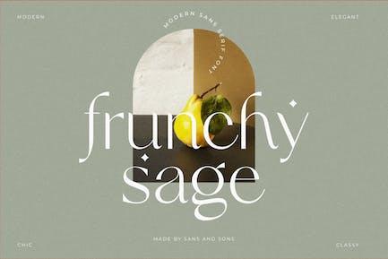 Frunchy Sage