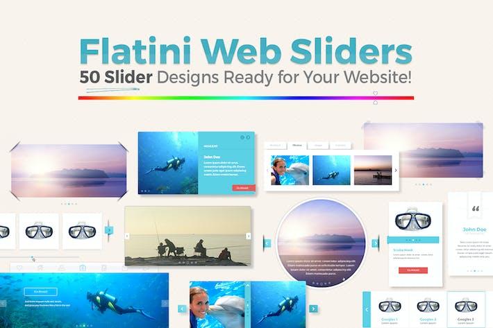 Flatini Web Sliders
