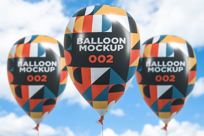 Thumbnail for Mockup de ballon 002
