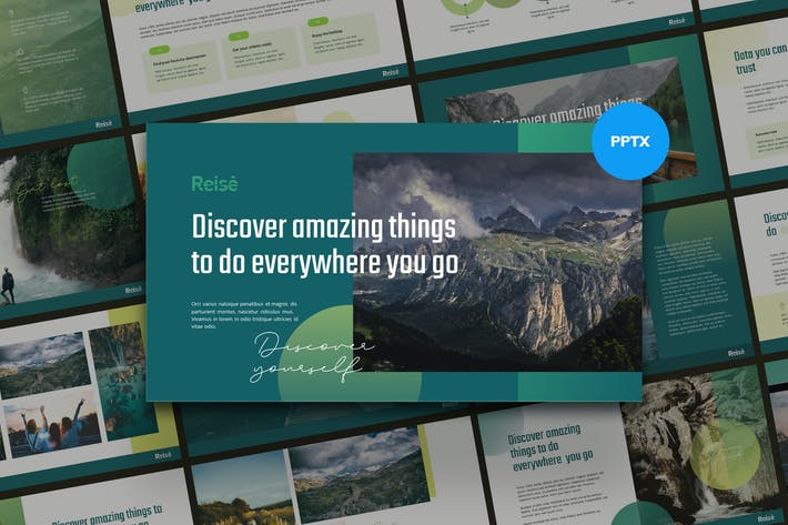 Thumbnail for REISE - Travel Business Powerpoint Template