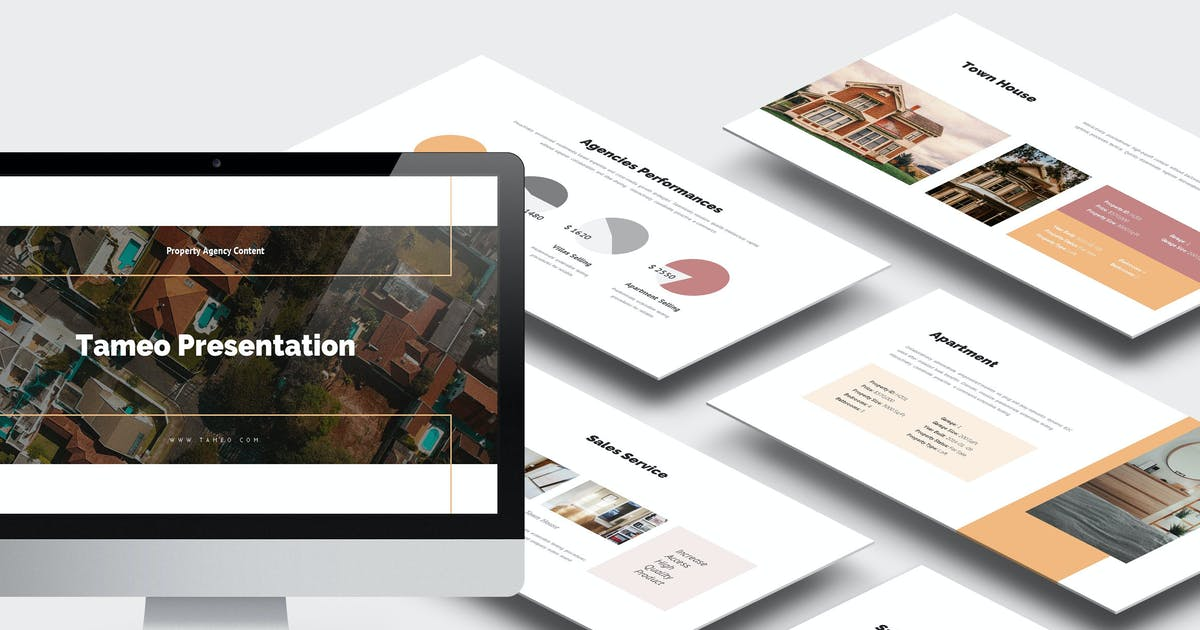 Download Tameo : Property Agent Powerpoint by punkl