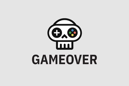 Game Over — Logo Template