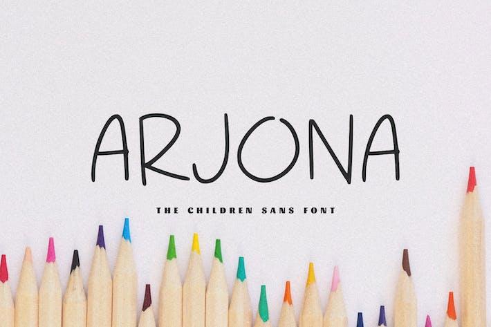 Thumbnail for Arjona - The Children Sans Font