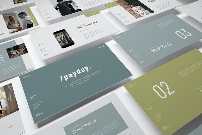 Pay Day Special Powerpoint Presentation Template