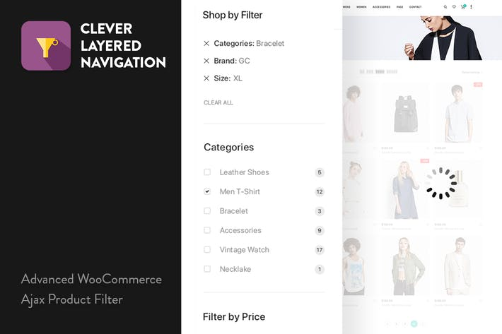 CleverLayeredNavigation - WooCommerce Ajax Product