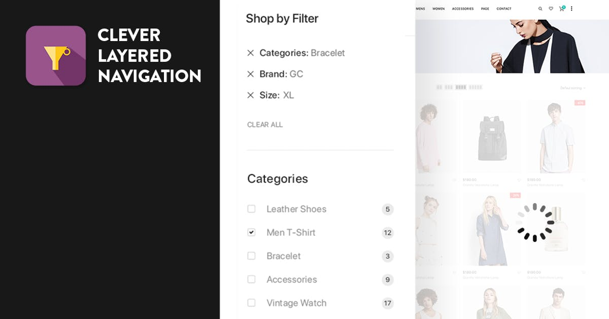 Download CleverLayeredNavigation - WooCommerce Ajax Product by CleverSoft