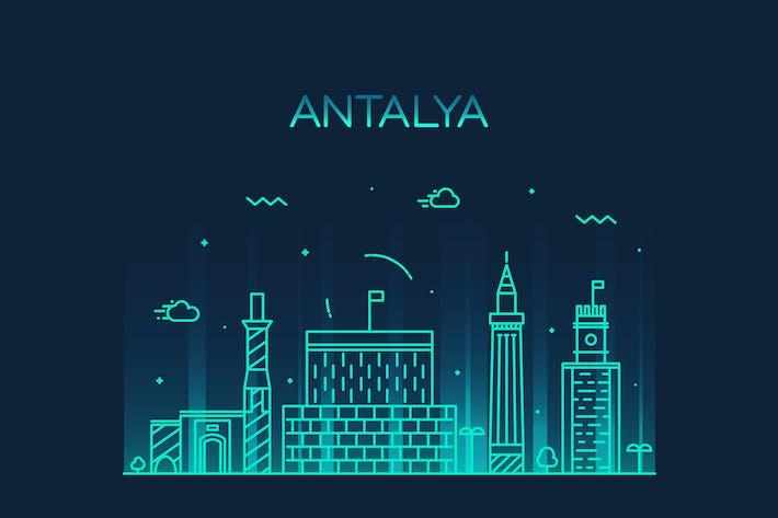 Antalya skyline, Turkey