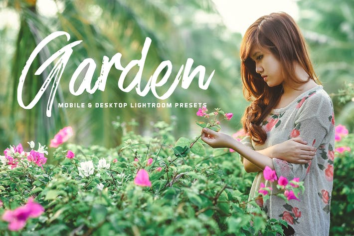 Thumbnail for Garden Mobile Lightroom Presets