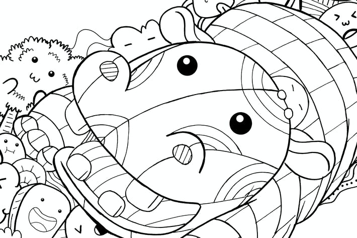 Thumbnail for Hippo Doodle