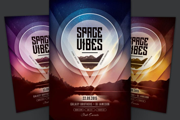 Thumbnail for Space Vibes Flyer