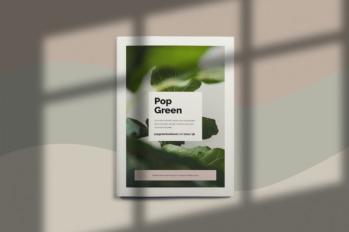 Thumbnail for Pop Green - Brochure Template Indesign