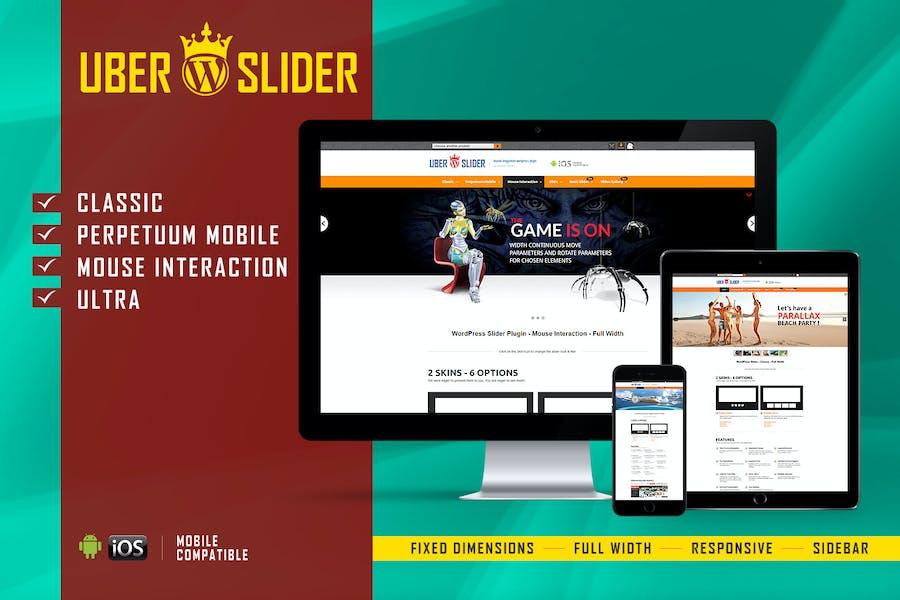 UberSlider - Layer Slider Plugin WordPress