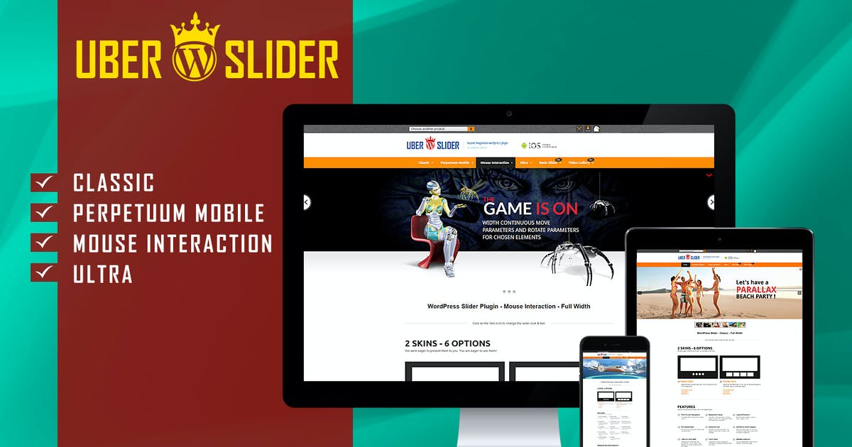Download UberSlider - Layer Slider WordPress Plugin by LambertGroup