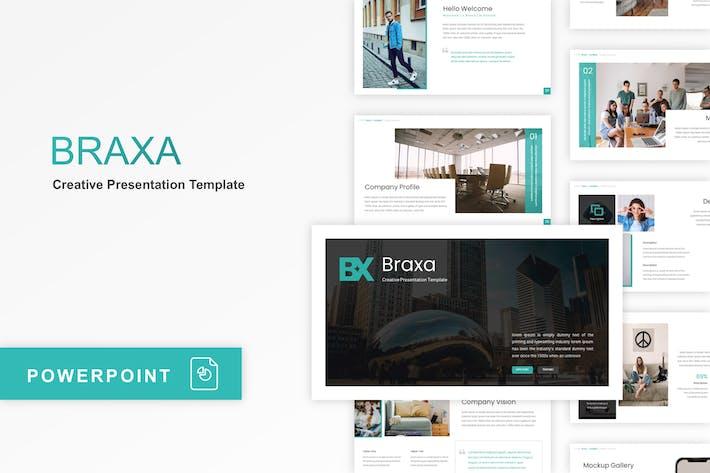 Thumbnail for Braxa - Creative PowerPoint Template