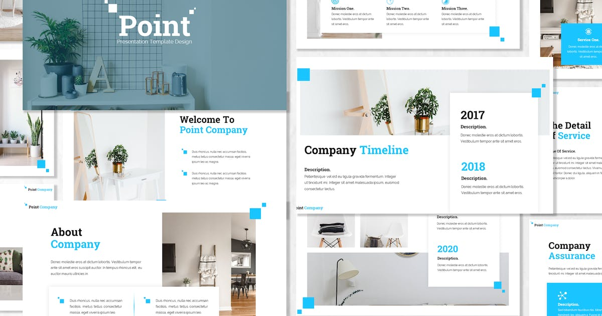 Download Point - Business Powerpoint Template by Blesstudio