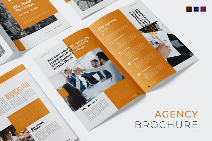 Thumbnail for Business Agency Brochure