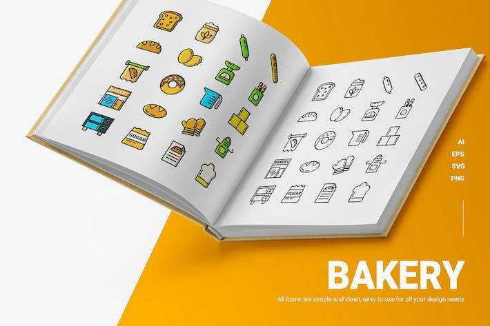 Bakery - Icons