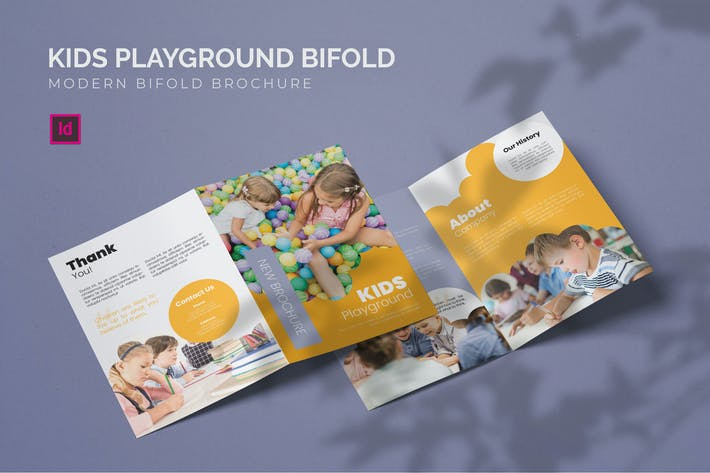 Thumbnail for Kids Playground - Bifold Brochure