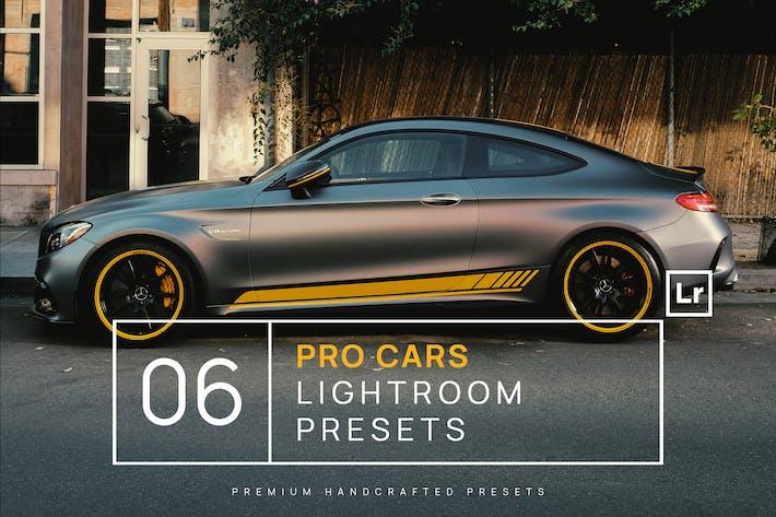 Thumbnail for 6 предустановок Lightroom Pro Cars + Мобильный