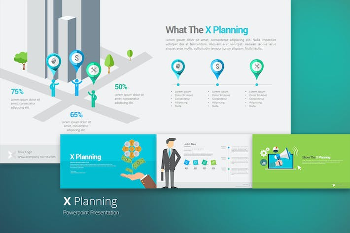 Thumbnail for X Planning Keynote Templates