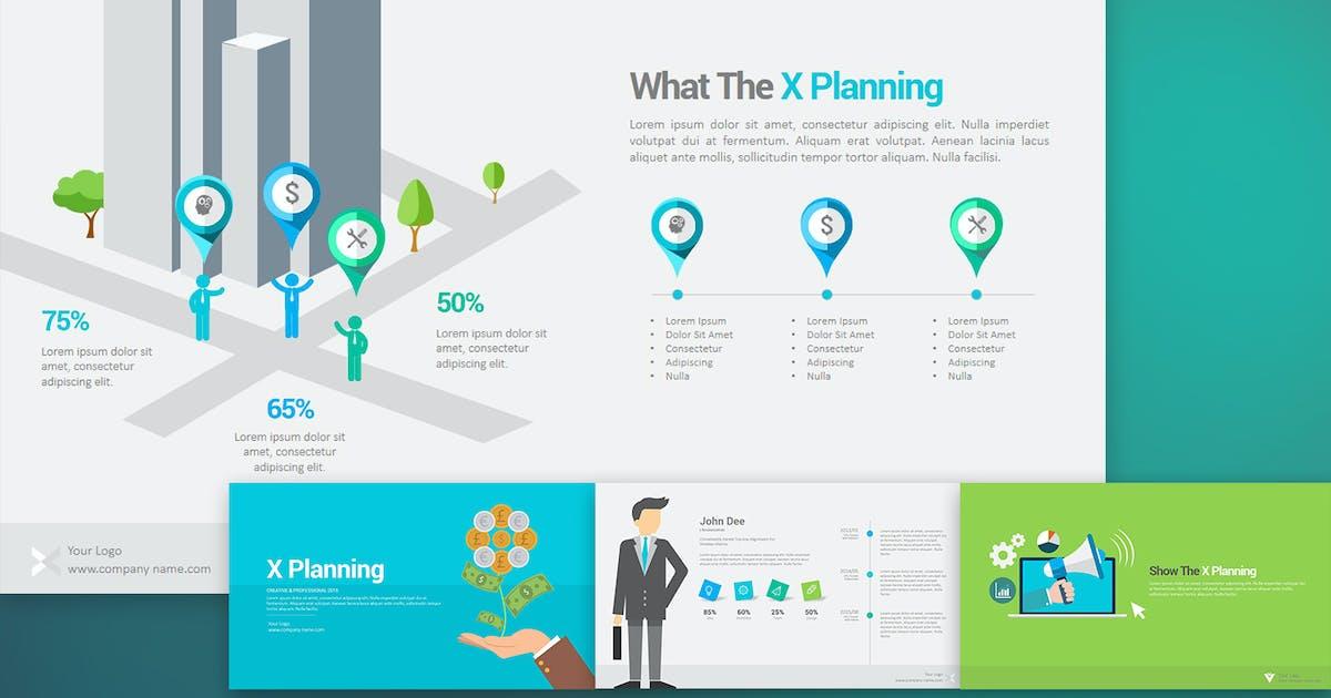 Download X Planning Keynote Templates by StockShape