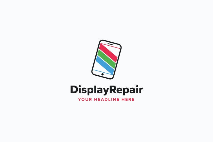 Thumbnail for Display Repair Logo Template