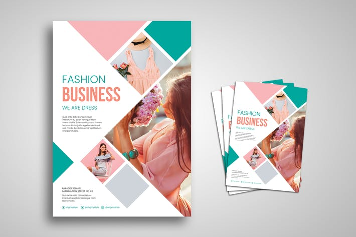 Thumbnail for Fashion Business Flyer