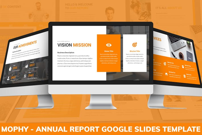 Thumbnail for Mophy - Annual Report Google Slides Template