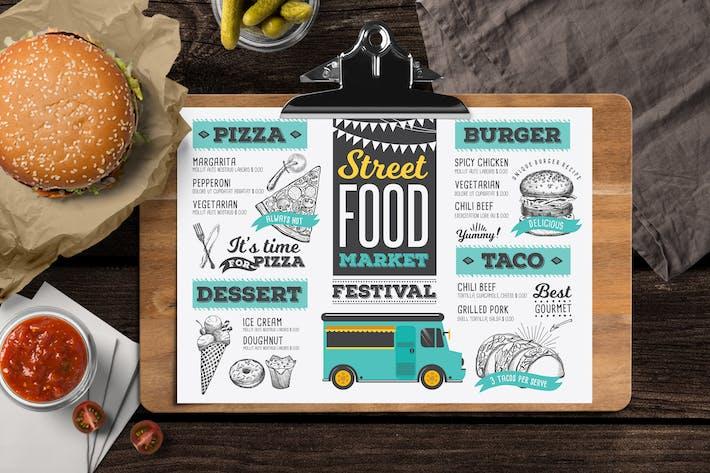 Thumbnail for Food Truck Menu