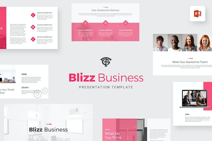 Thumbnail for Blizz Business - Powerpoint