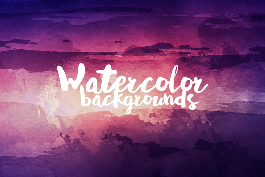 Watercolor Backgrounds - product preview 0